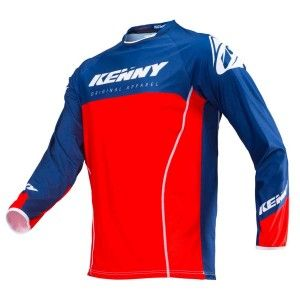 Kenny Crossshirt Titanium Red/Navy