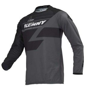 Kenny Crossshirt Track Black/Grey