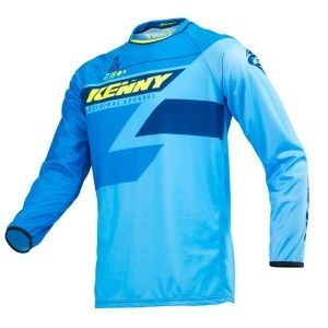 Kenny Crossshirt Track Full Blue