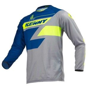 Kenny Crossshirt Track Navy/Lime
