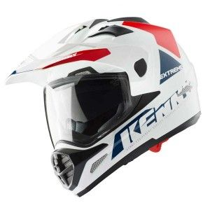 Kenny Crosshelm/Endurohelm Extreme White