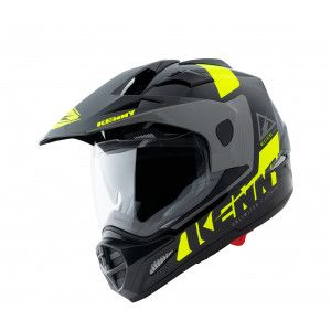 Kenny Crosshelm/Endurohelm Extreme Black/Fluor Yellow