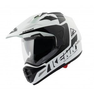 Kenny Crosshelm/Endurohelm Extreme Black/White