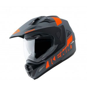 Kenny Crosshelm/Endurohelm Extreme Matt Grey Orange