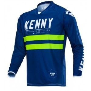 Kenny Crossshirt Performance Navy