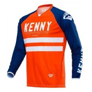 Kenny Crossshirt Performance Orange