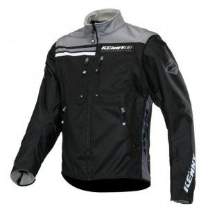 Kenny Softshell Enduro Jas Black/Grey
