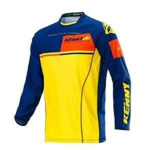 Kenny Crossshirt Titanium Yellow