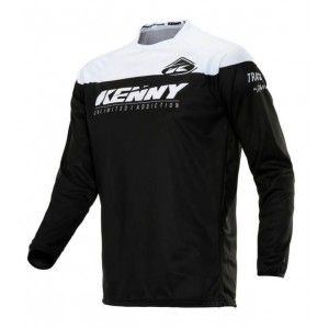 Kenny Track Crossshirt Black/White