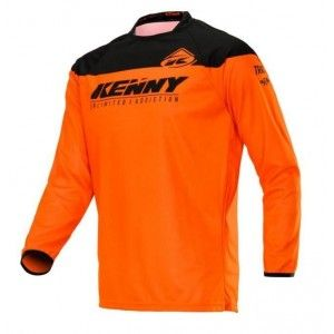 Kenny Track Crossshirt Neon Orange
