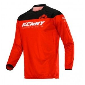 Kenny Track Crossshirt Red