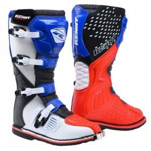 Kenny Track Crosslaarzen Patriot Blue/Red