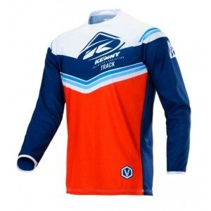 Kenny Kinder Crossshirt Track Victory Navy/Red