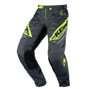Kenny Crossbroek Track Charcoal Neon Yellow
