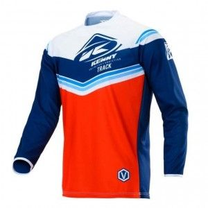 Kenny Track Victory Crossshirt Red/Navy