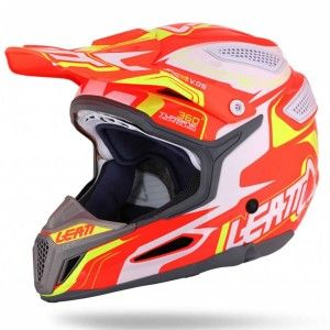 Leatt Crosshelm GPX 5.5 V05 Orange/Yellow/White