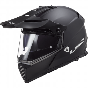 LS2 Crosshelm/Endurohelm Pioneer EVO Single Mono Black