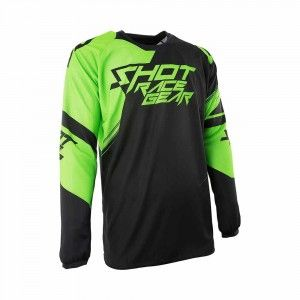 Shot Crossshirt Contact Claw Neon Green
