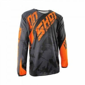Shot Crossshirt Devo Squad Grey/Neon Orange