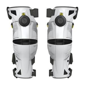 Mobius X8 Knie Brace White/Acid Yellow