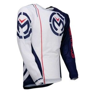Moose Racing Crossshirt Sahara Red/White/Blue
