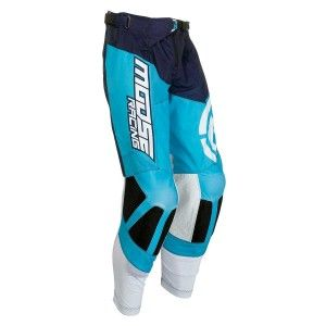 Moose Racing Crossbroek M1 Blue/White