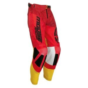 Moose Racing Crossbroek M1 Red/Yellow