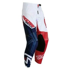 Moose Racing Kinder Crossbroek Qualifier Red/White/Blue