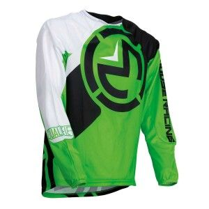 Moose Racing Crossshirt Qualifier Green/White