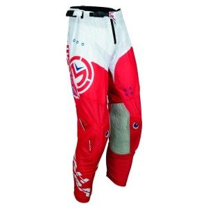 Moose Racing Crossbroek Sahara Red/White