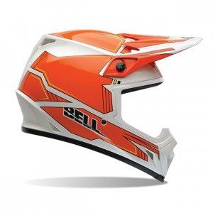 Bell Crosshelm MX-9 Blockade Orange-XS
