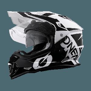 O'neal Crosshelm/Endurohelm Sierra R Neon Black/White