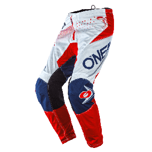 O'Neal Element Factor Kinder Crossbroek White/Blue/Red