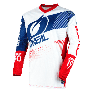 O'Neal Element Factor Crossshirt White/Blue/Red