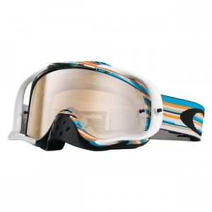 Oakley Crossbril Crowbar MX Glitch Blue/Orange/Black Iridium & Clear
