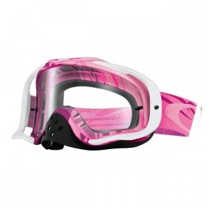 Oakley Crossbril Crowbar MX Razorwire Pink/Rose/Clear
