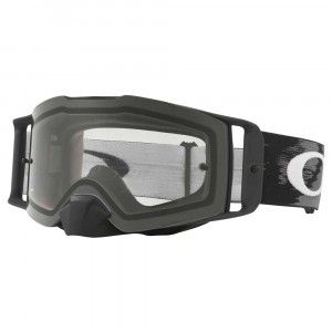 Oakley Crossbril Front Line MX Matte Black Speed/Clear