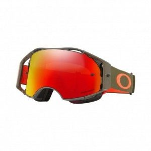 Oakley Airbrake Crossbril Dark Brush Orange Prizm Trail Torch