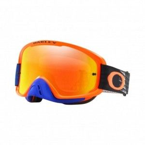 Oakley Crossbril O Frame 2.0 MX Dissolve Orange/Blue Iridium