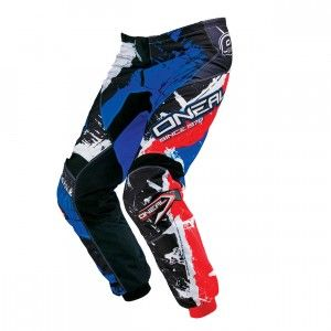 O'Neal Element Pants Shocker Black/Red/Blue