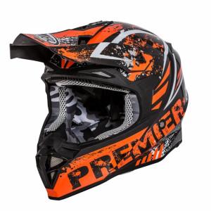 Premier Exige QX7 Crosshelm Orange