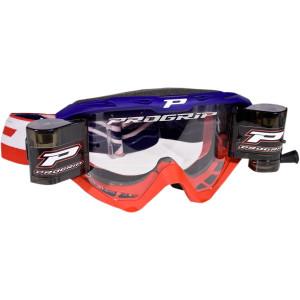 Progrip Crossbril 3450 Roll-Off rood/blauw