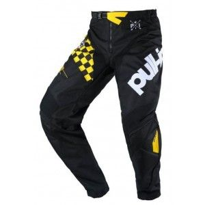 Pull-In Crossbroek Master Black Yellow