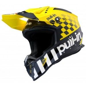 Pull-in Crosshelm Master Yellow/Black