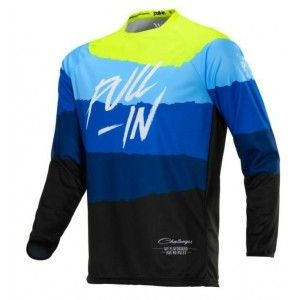 Pull-In Kinder Crossshirt Challenger Original Blue/Neon Yellow