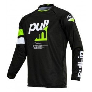 Pull-In Kinder Crossshirt Challenger Full Lime