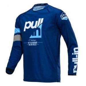 Pull-In Kinder Crossshirt Challenger Race Navy
