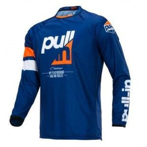 Pull-In Kinder Crossshirt Challenger Race Orange/Navy
