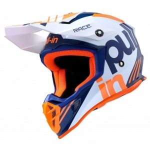 Pull-in Crosshelm Race Orange/Navy
