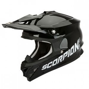 Scorpion Crosshelm VX-15 Evo Air Black